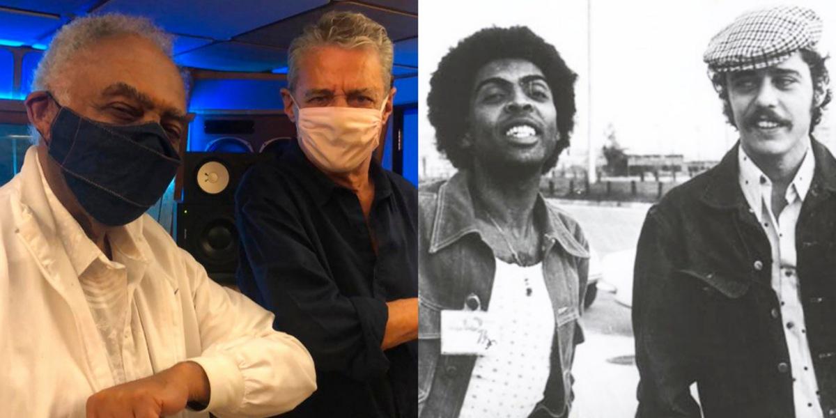 Novo projeto de Gilberto Gil é em homenagem a Chico Buarque (Foto: Reprodução/Instagram)