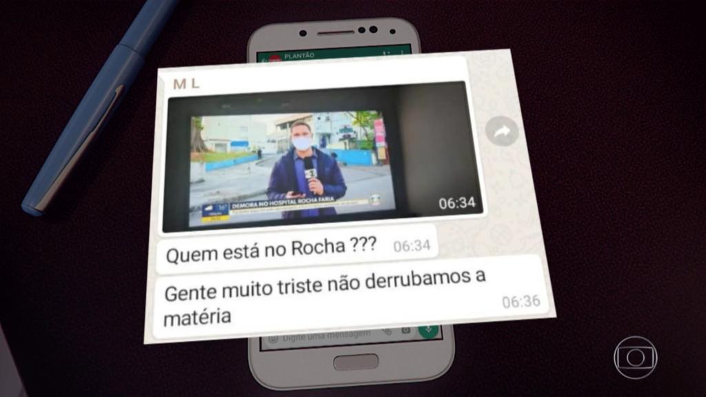 Captura da matéria do Jornal Nacional (Foto: Reprodução/ Globoplay)