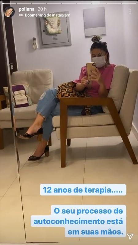 Poliana Rocha em Clínica (Foto: Reprodução)