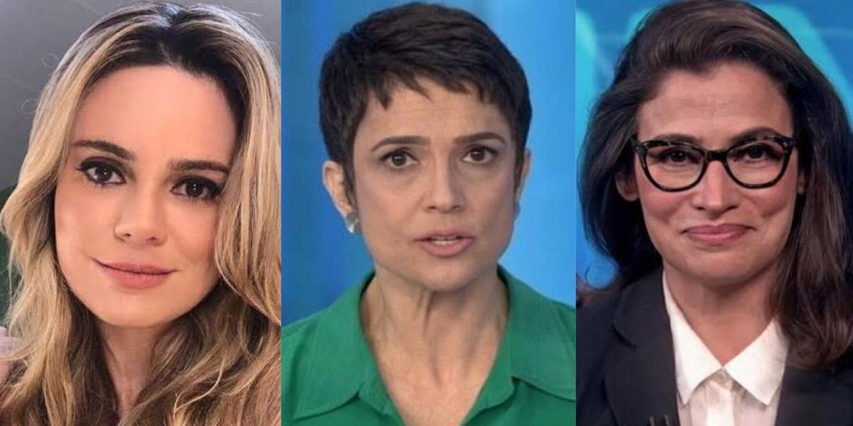 Rachel Sheherazade, Sandra Annenberg, Renata Vasconcellos