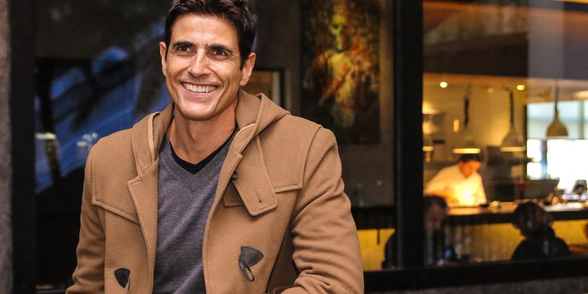 O ator da Globo, Reynaldo Gianecchini (Reprodução)