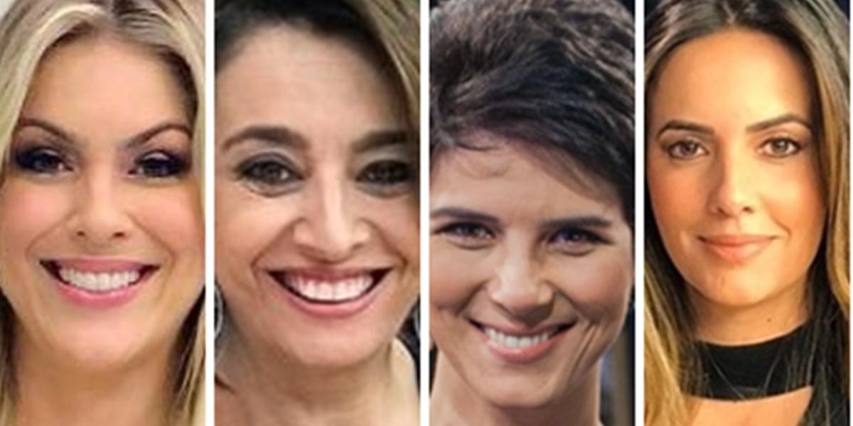 Renata Fan, Catia Fonseca, Mariana Godoy e Paloma Tocci (Foto: Montagem/TV Foco)