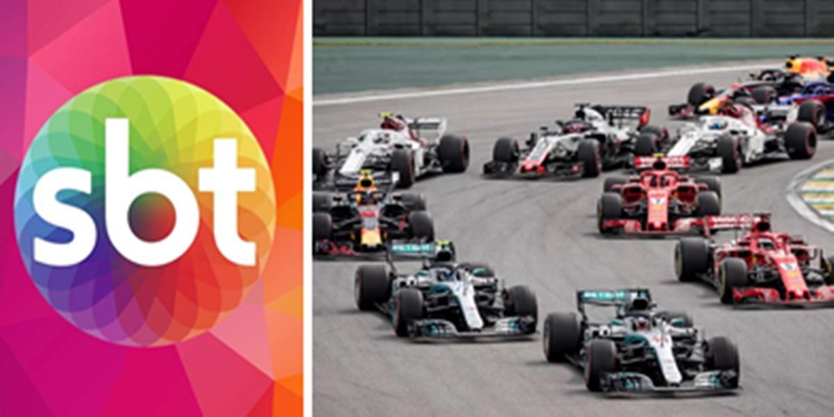 O SBT deve conquistar o direito de exibição da Fórmula 1 (Imagem: Montagem/TV Foco)