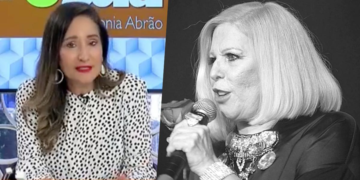 Vanusa tem estado de saúde revelado no programa de Sonia Abrão (Foto: Montagem)