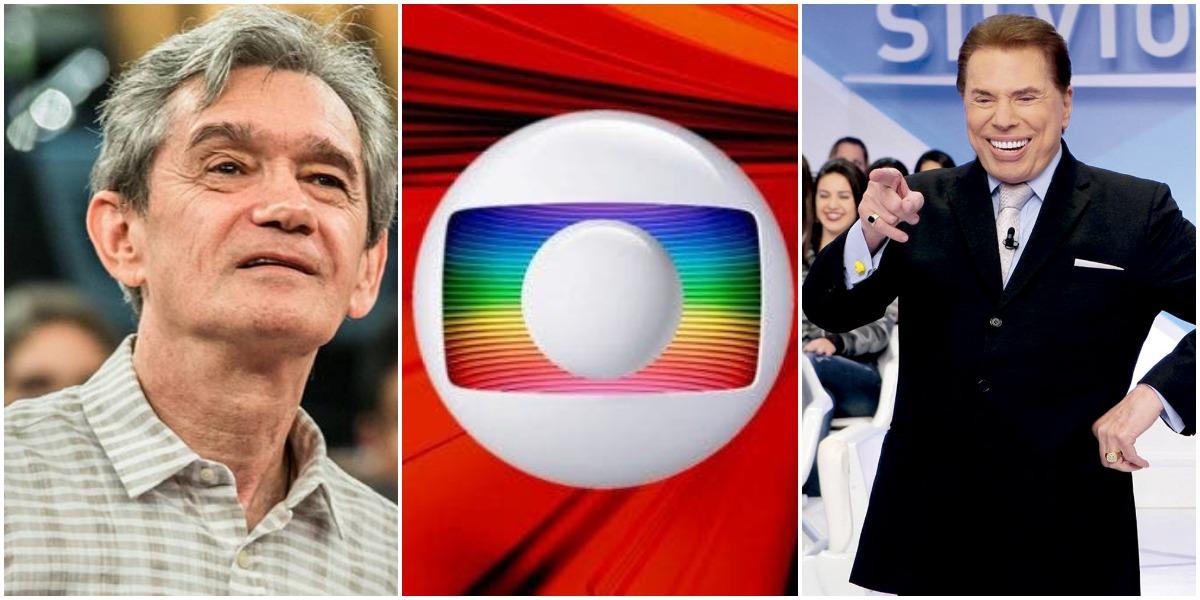 Serginho Groisman disse que Silvio Santos lhe ofereceu fortuna para não trocar o SBT pela Globo (Reprodução)
