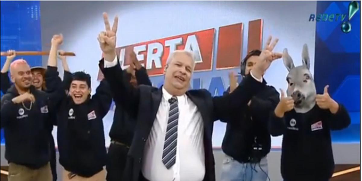 RedeTV: Sikêra Jr pegou público de surpresa com anuncio (Foto: Reprodução)