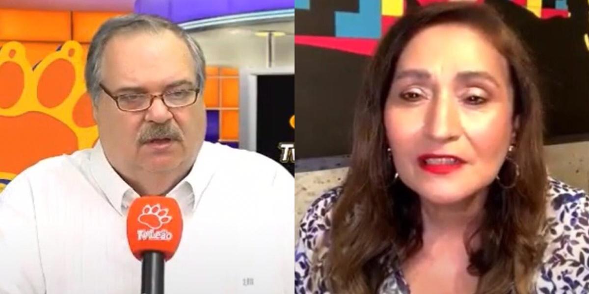 Sonia Abrão, Gilberto Barros