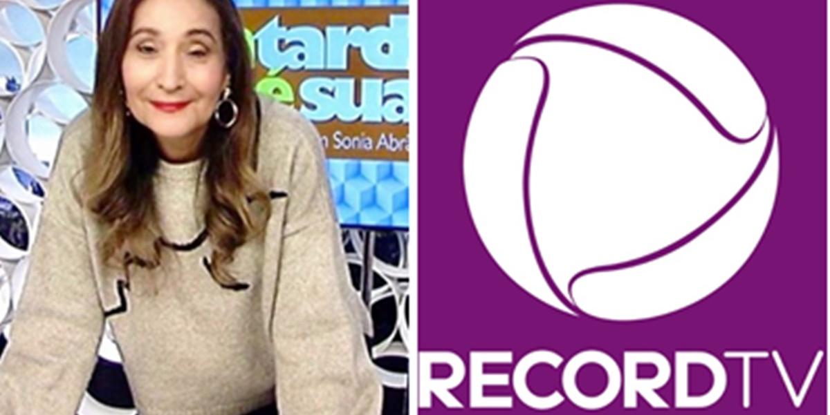 Sonia Abrão expôs Record em sua rede social (Imagem: Montagem/TV Foco)