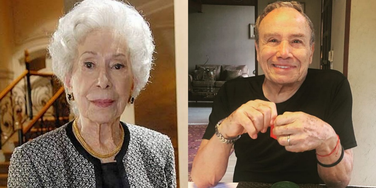 Stênio Garcia e Cleyde Yáconis foram casados, atriz faleceu em 2013 (Foto: Reprodução)