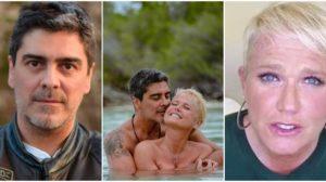 Xuxa parabenizou o namorado, Junno Andrade (Reprodução)