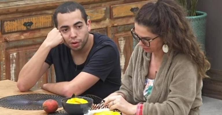 Lucas Maciel e Luiza Ambiel em A Fazenda 12 (Foto: Divulgação)