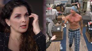 Luiza Ambiel relata pavor de Juliano após surto (Foto: Reprodução)