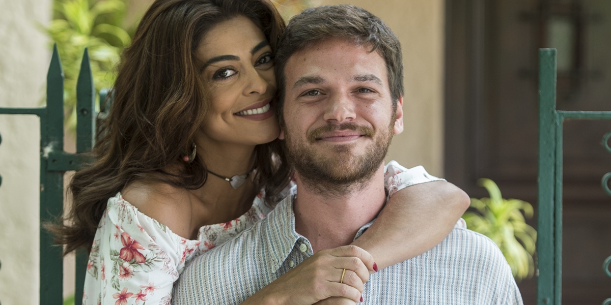 Bibi (Juliana Paes) e Rubinho (Emilio Dantas) em A Força do Querer (Foto: Globo/Estevam Avellar)