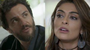 Caio (Rodrigo Lombardi) vai tirar Bibi (Juliana Paes) do fundo do poço em A Força do Querer (Foto: Reprodução/Globo)