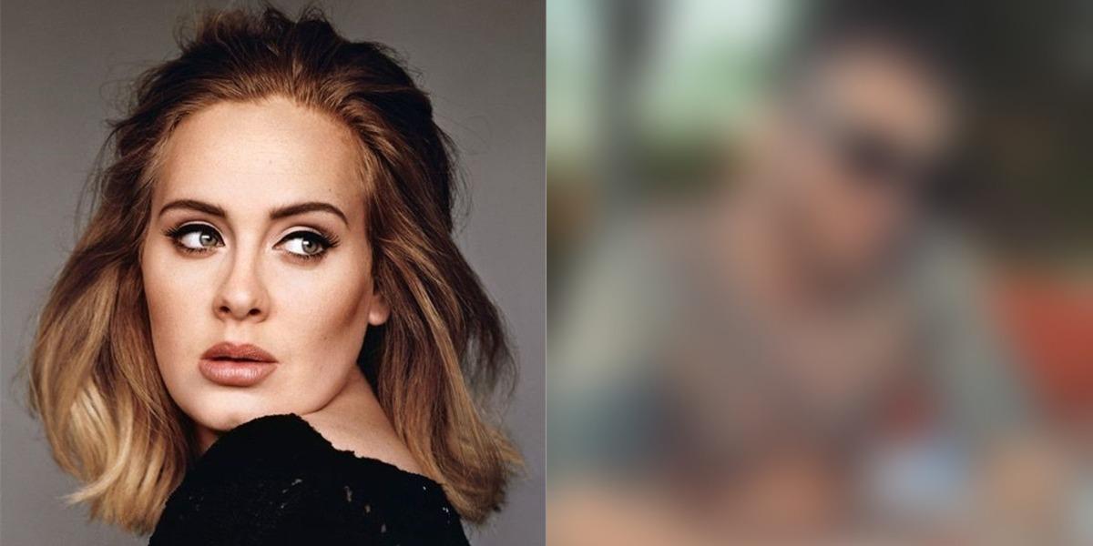 Adele recebe cantada do filho de Tom Hanks (Foto: Reprodução)