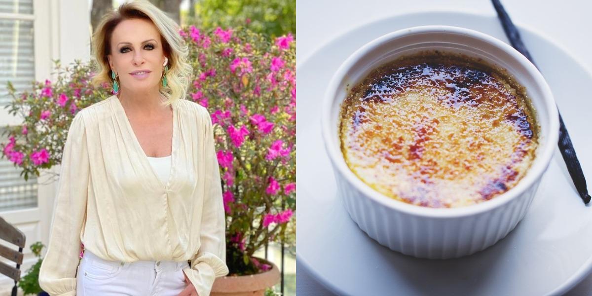 Ana Maria Braga prepara crème brûlée de arroz-doce no Encontro de hoje (Foto: Reprodução)