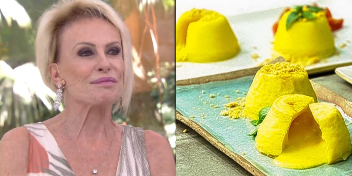 Ana Maria Braga prepara petit gâteau de queijo (Foto: Reprodução)