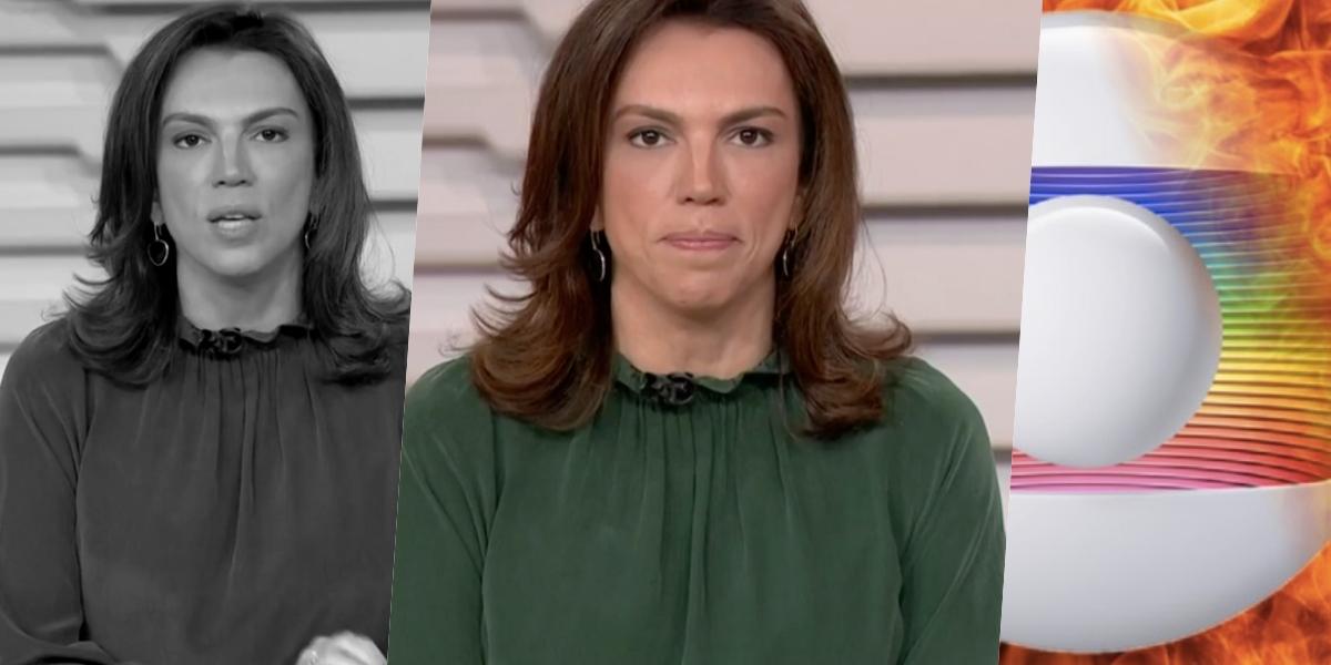 Ana Paula Araújo ignorou um escândalo contra a Globo Foto: reprodução/Globo)