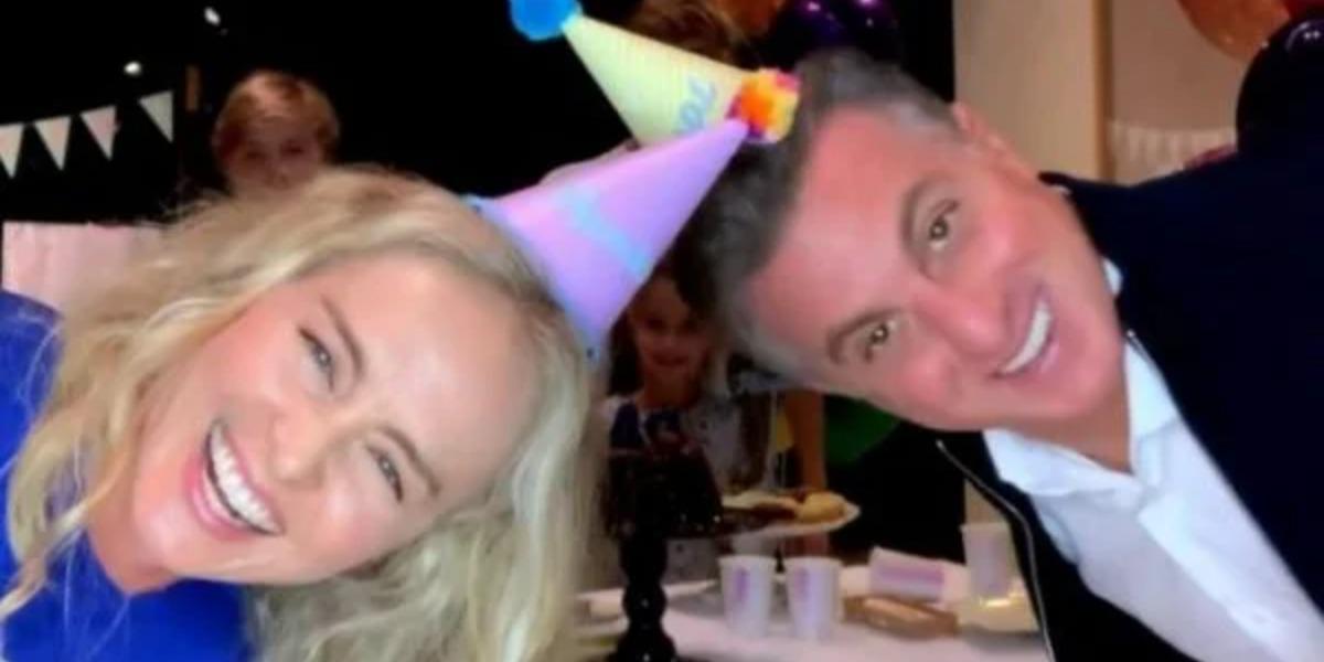 Angélica e Luciano Huck na festa de aniversário do apresentador (Foto: Reprodução/Instagram)