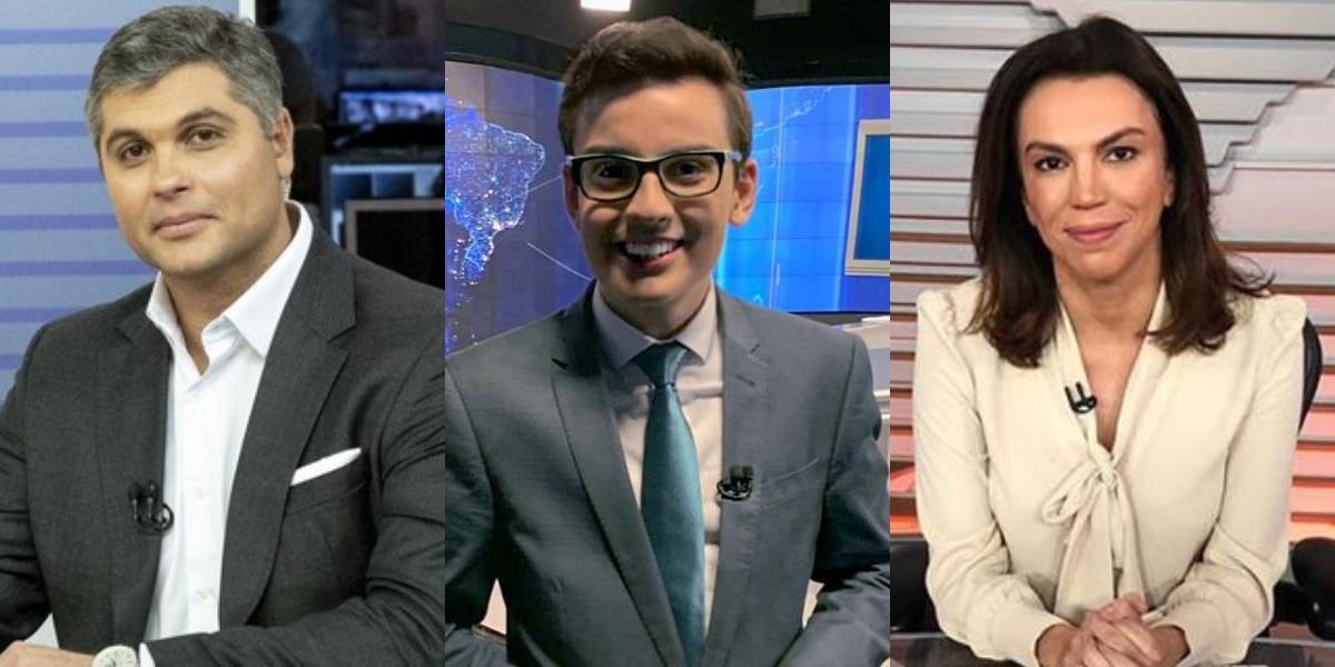 Bora SP, Primeiro Impacto e Bom Dia Brasil foram destaques de audiência (Foto: Reprodução/Band/Instagram/Globo)