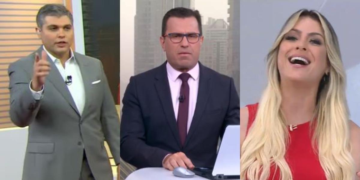 Bora Brasil, Bom Dia São Paulo e Jogo Aberto foram destaques de audiência (Foto: Reprodução/Band/TV Globo)