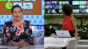 A Tarde é Sua e Jornal Hoje foram destaques de audiência (Foto: Reprodução/RedeTV!/TV Globo)