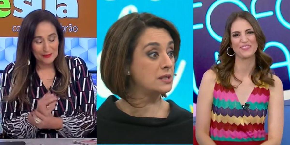 A Tarde é Sua, Melhor da Tarde e Triturando foram destaques de audiência (Foto: Reprodução/RedeTV!/Band/SBT)