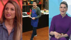 Encontro, The Chef e Jogo Aberto foram destaques de audiência (Foto: Reprodução/TV Globo/Band)