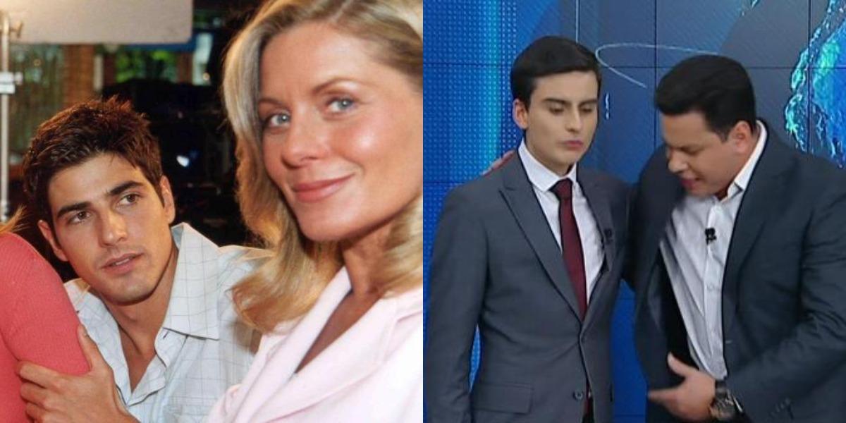 Laços de Família e Primeiro Impacto foram destaques de audiência (Foto: Reprodução/TV Globo/SBT)