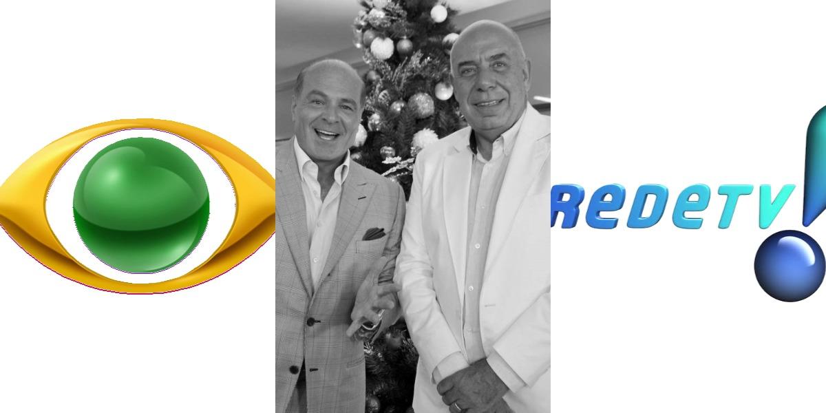 Amilcare Dallevo e Marcelo de Carvalho são donos da RedeTV! (Foto: Divulgação/RedeTV!/Band)