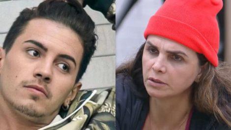 Biel cogita desistir de A Fazenda 12 caso Luiza Ambiel escape da berlinda (Foto: Reprodução)