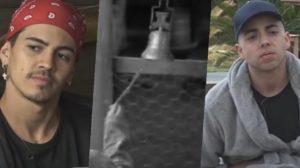 Biel e Lucas Maciel podem tocar o sino em A Fazenda 12 (Foto: reprodução/Record)