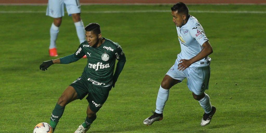 SBT transmitiu Bolívar x Palmeiras na última quarta. (Foto: Divulgação)