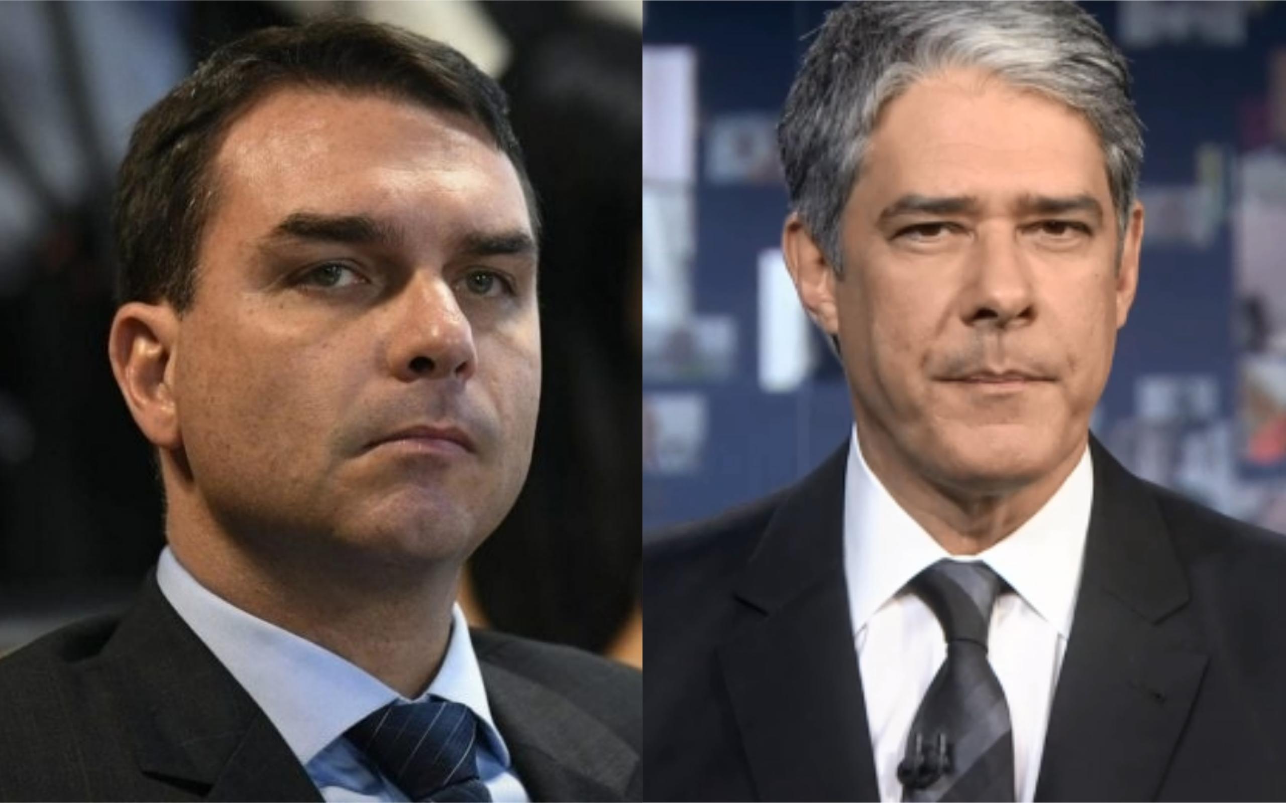 Flávio Bolsonaro está em guerra contra a Globo (Foto: Divulgação)