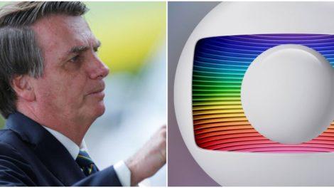 Bolsonaro tomou decisão contra a Globo - Foto: Montagem