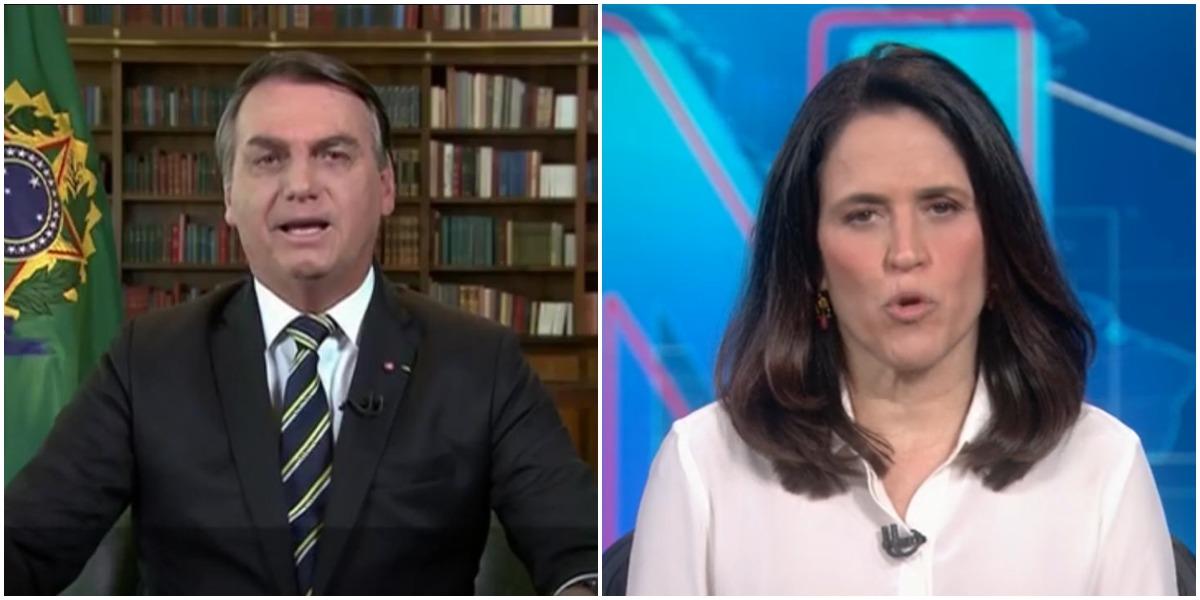 Bolsonaro fez a Globo ir da explosão ao fracasso em minutos - Foto: Reprodução