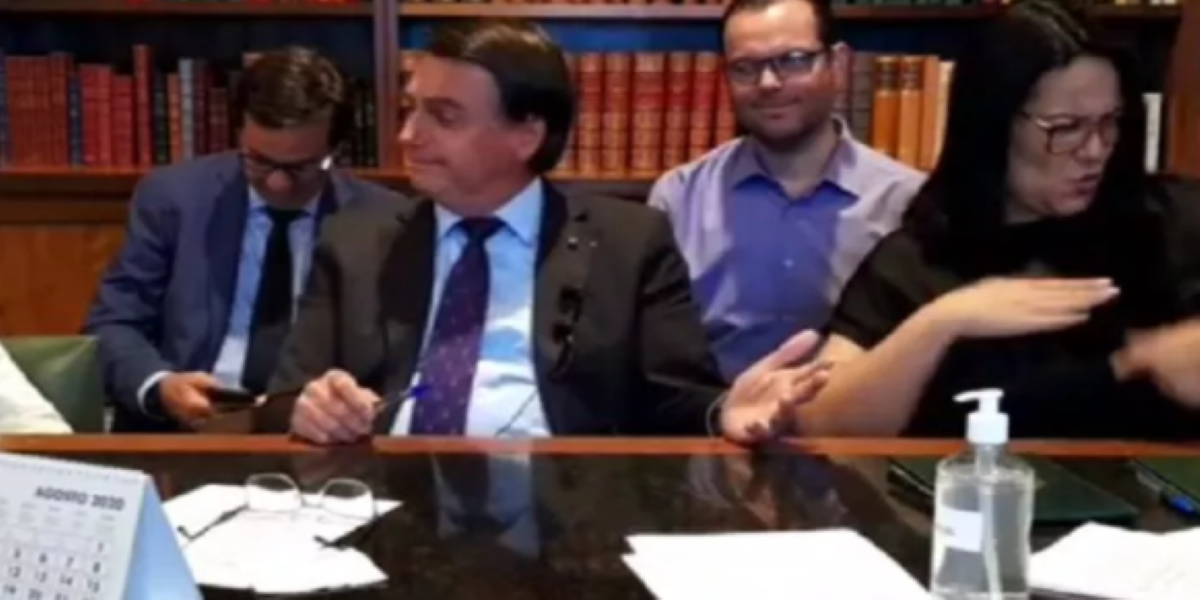 Bolsonaro faz piada com criança (Foto: Reprodução)