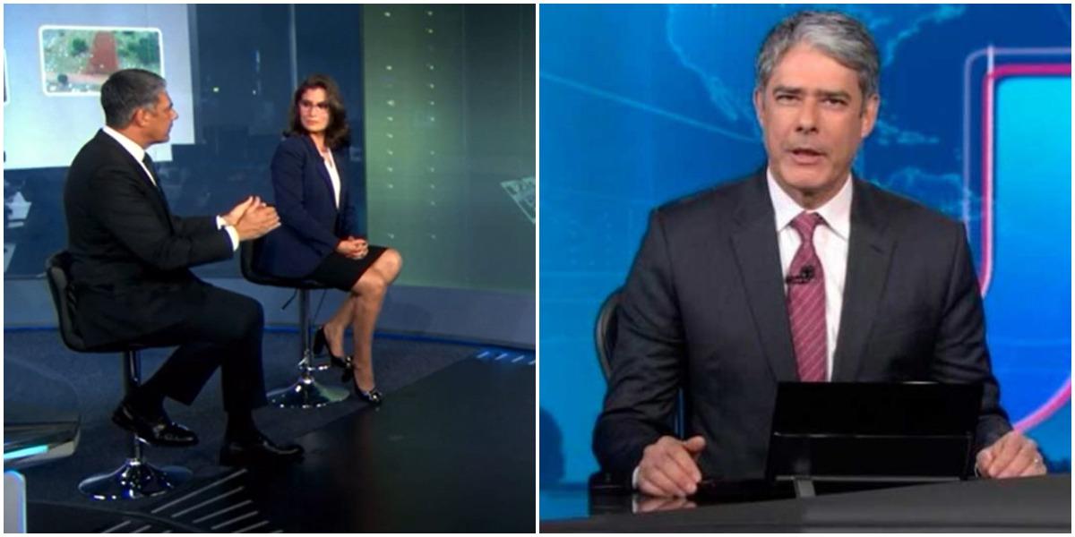 William Bonner quebrou o silêncio após ser confrontado na Globo - Foto: Reprodução
