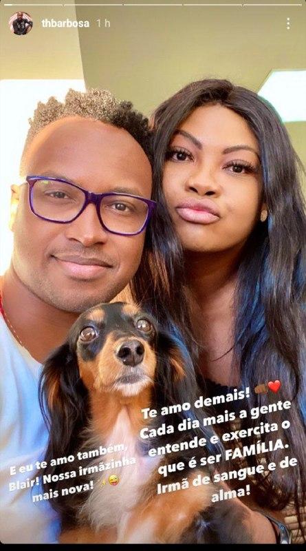 Thiaguinho homenageou a irmão pelo Dia do Irmão (Foto: Reprodução/ Instagram)