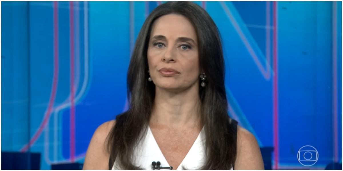 Ex-jornalista da Globo, Carla Vilhena, conta que foi acusada de roubo (Foto: Reprodução)