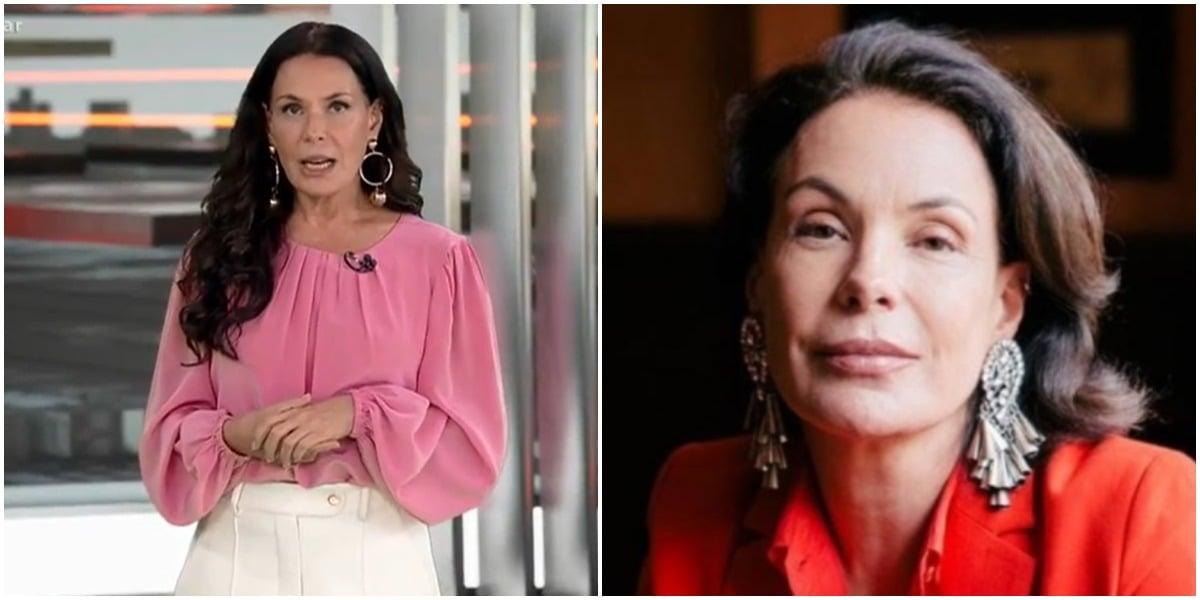 Carolina Ferraz foi criticada por alguns telespectadores (Foto: Reprodução)