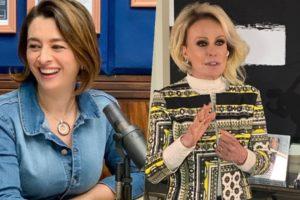 Catia Fonseca relembrou uma história com Ana Maria Braga (Foto: reprodução)