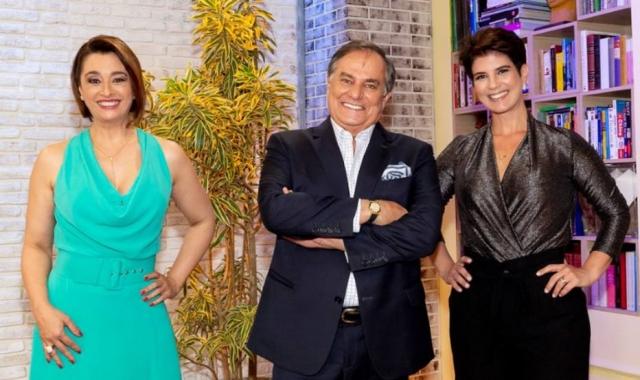Catia Fonseca participou da Estreia de Mariana Godoy (Foto Reprodução)