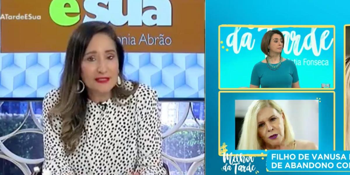 Sonia Abrão e Catia Fonseca disputam audiência todas as tardes (Foto: Reprodução/RedeTV!/Band)