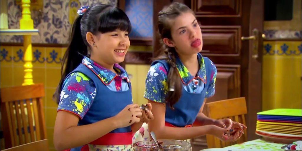 Cena de Chiquititas. (Foto: Reprodução)