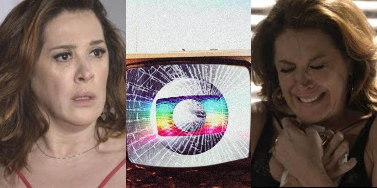 Claudia Raia será desligada da Globo (Foto: Reprodução/TV Globo)