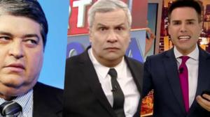 Datena, Sikêra Jr e Luiz Bacci podem sair do ar na TV (Foto montagem: TV Foco)