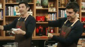 """Edu Guedes no """"The Chef"""" de hoje (Foto: Reprodução/Band)"""