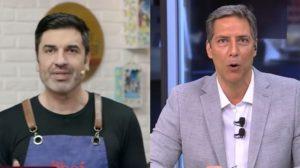 Edu Guedes e Lacombe sofreram na audiência prévia de hoje (Foto: Reprodução/Band/RedeTV!)