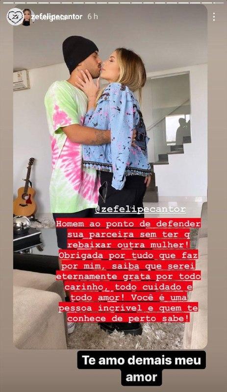 Virgínia Fonseca elogiou o cantor sertanejo (Foto: Reprodução/ Instagram)